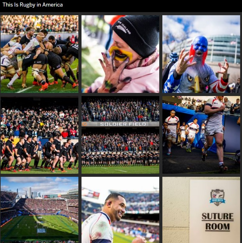 ESPN the Magazine rugby photo gallery